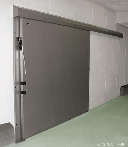 Морозильные двери откатные